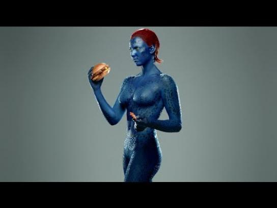 Carl's Jr. Film Ad -  Mystique