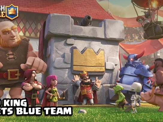 Supercell Film Ad - The Blue Team is a Bunch of NERDS!