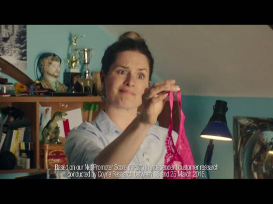 Tesco Mobile Film Ad - Bedroom