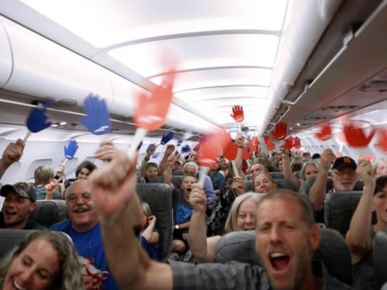 JetBlue Digital Ad -  Reach across the aisle