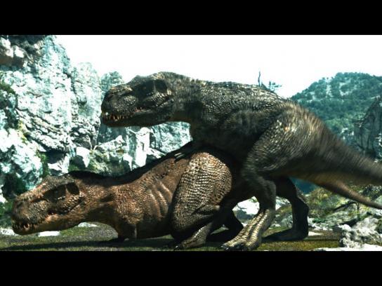 Okamoto Film Ad -  Dinosaurs