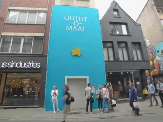e5 Ambient Ad -  The outfit-o-mat