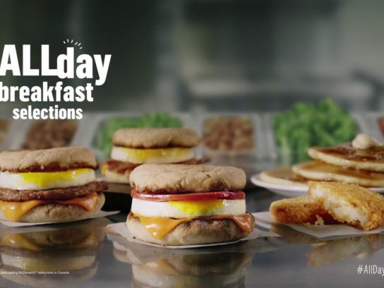 McDonald's Film Ad - McDonald's all day breakfast chaos