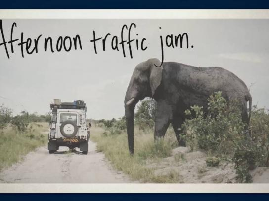 Land Rover Outdoor Ad - #CelebrateDefender