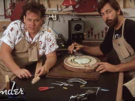 Fender Content Ad - Custom shop founders design 30th anniversary documentary