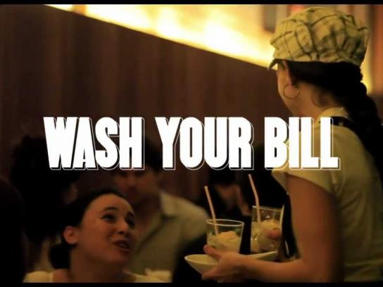 3M Ambient Ad -  Wash Your Bill