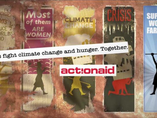 Action Aid Film Ad -  Support women farmers