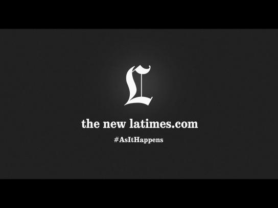 Los Angeles Times Digital Ad -  As it happens
