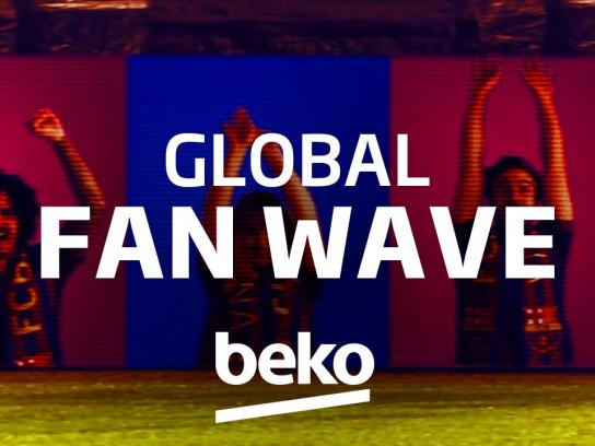 Beko Digital Ad -  Beko Global Fan Wave