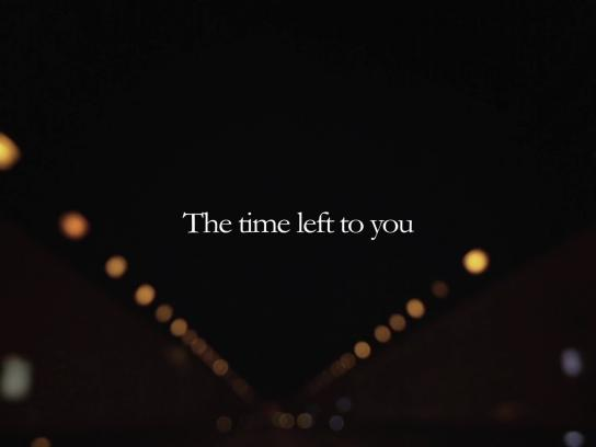 Samsung Digital Ad -  The time left to you