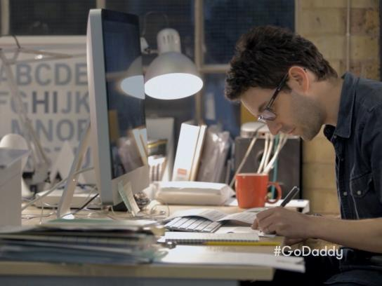 GoDaddy Film Ad -  Working