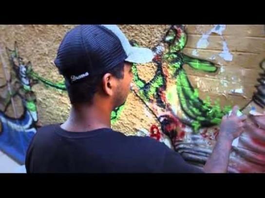 Vodol Ambient Ad -  Street Art