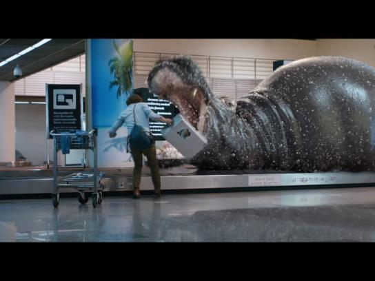 Perrier Digital Ad - Say no to ordinary - Airport