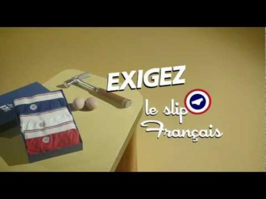 Slip Français Film Ad -  Demand le Slip Français