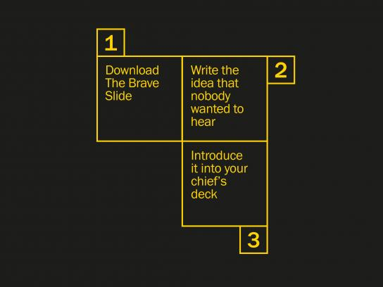 D&AD Digital Ad -  The Brave Slide