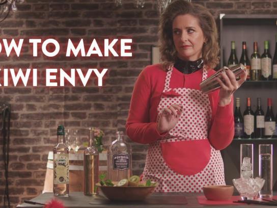 Oddbins Film Ad - How to make a Kiwi Envy ft. Aviation American Gin