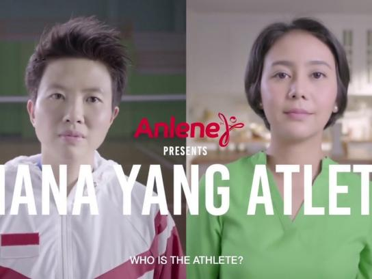 Anlene Integrated Ad - Who is the Athlete?