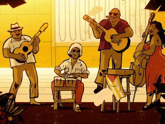 Ray-Ban Film Ad -  Havana