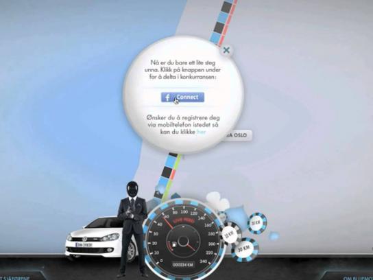 Volkswagen Digital Ad -  Roulette