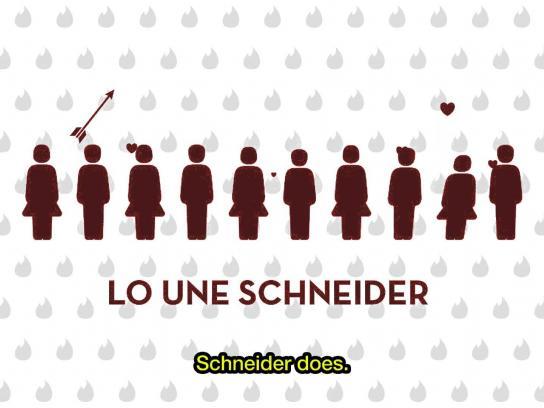 Schneider Digital Ad -  ValenTinder