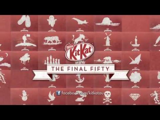 Kit Kat Outdoor Ad -  The Final Fifty
