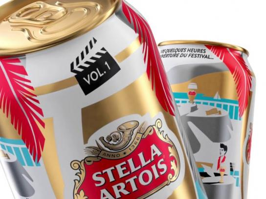 Stella Artois Direct Ad - Cannes Film Festival Limited Edition Packaging