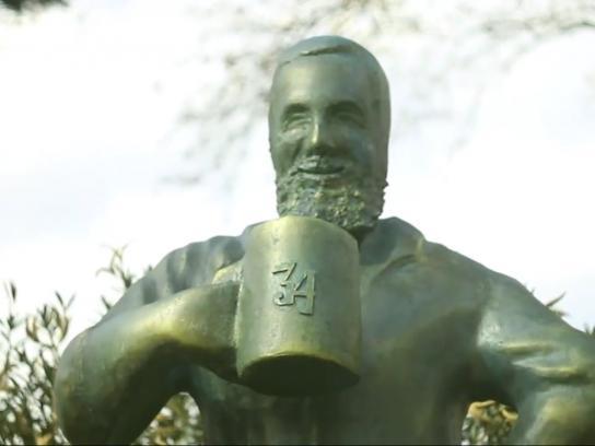 Beer 34 Outdoor Ad -  Statues