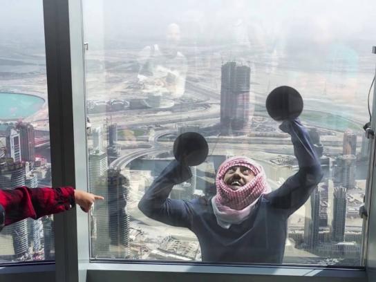 Visa Film Ad - Burj Khalifa