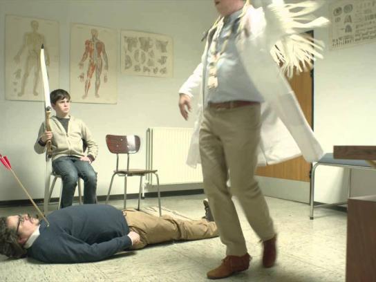 Société Générale Film Ad -  The doctor