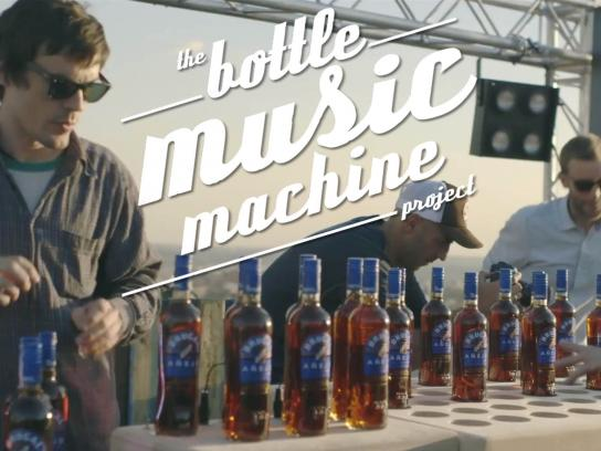 Brugal Digital Ad -  The Bottle Music Machine Project