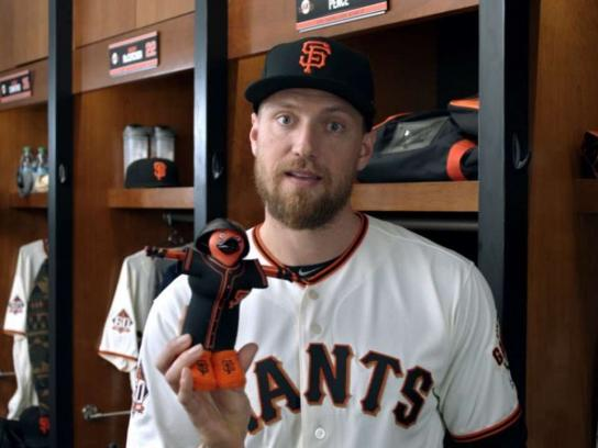 San Francisco Giants Film Ad - If I Weren't a Player: Pence: An Artist in the Outfield