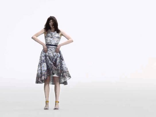 Mary Katrantzou Film Ad -  Dancing