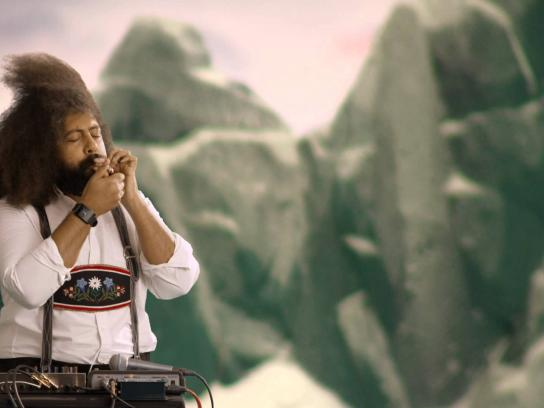 Greenpeace Digital Ad -  Reggie Watts - Yodels for wind power