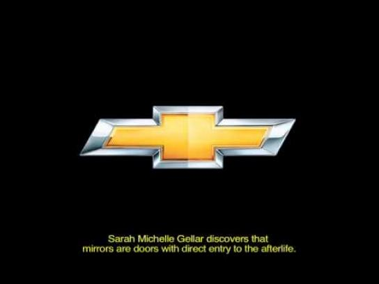 Chevrolet Audio Ad -  Movies