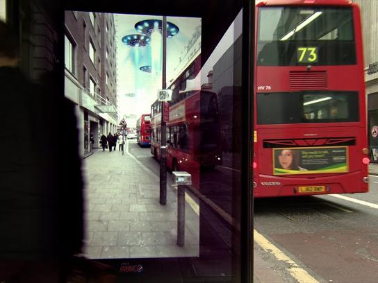 Pepsi Ambient Ad -  Unbelievable Bus Shelter