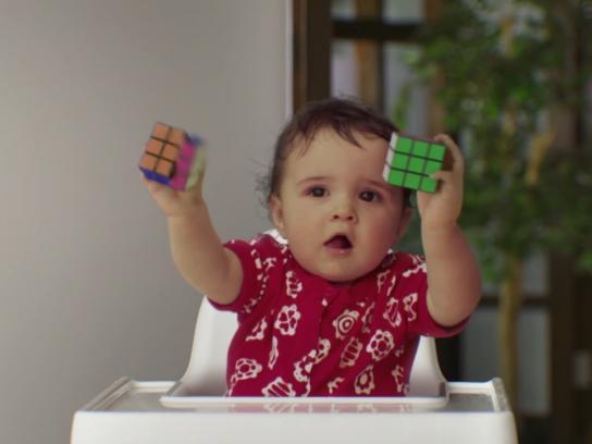 Visa Film Ad - Rubiks cube