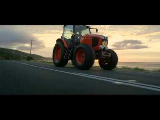 Kubota Film Ad -  Sheer Tractoring Pleasure