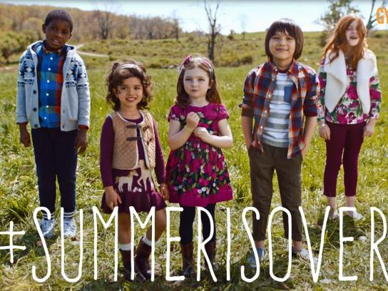 Gymboree Film Ad - Kids back to school
