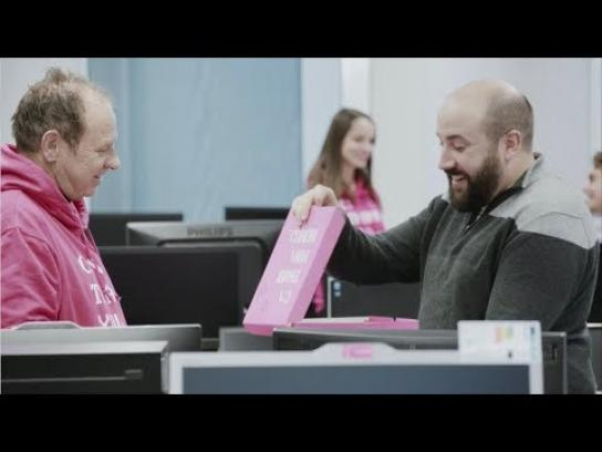 T-Systems Experiential Ad - A message to the nerds