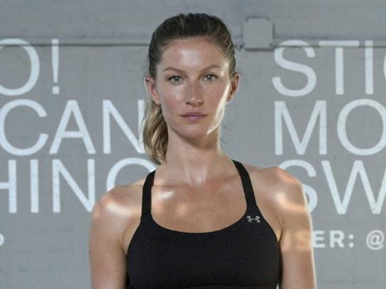Under Armour Digital Ad -  I will what I want - Gisele Bündchen