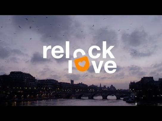 Orange Digital Ad -  relock love