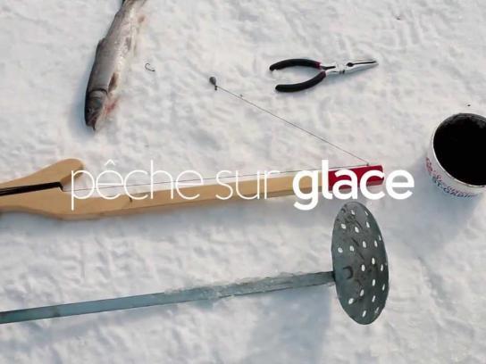 Tourism Quebec Ambient Ad -  Québec Original