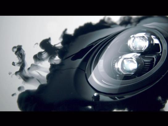 Porsche Film Ad -  Black Ink