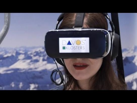 Davos Experiential Ad - Get some sun