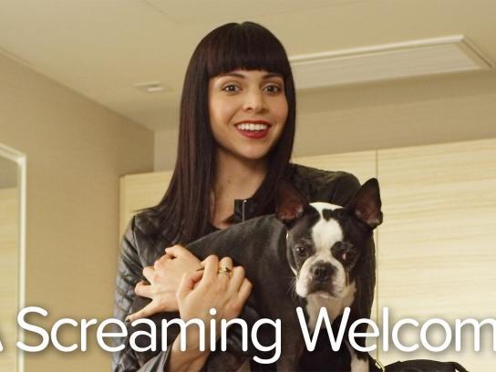 Kimpton Hotels & Restaurants Digital Ad -  A Screaming Welcome