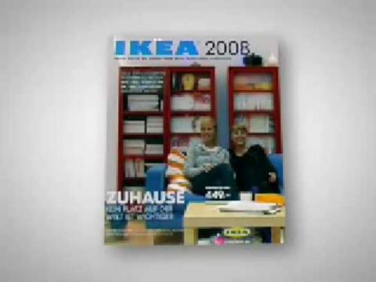 IKEA Ambient Ad -  3D catalogue cover