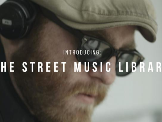 Personal Music Ambient Ad -  Street Music Library