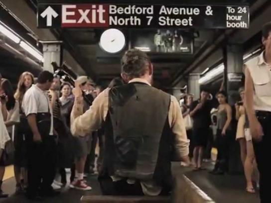 Pandora Digital Ad -  Underground Stations