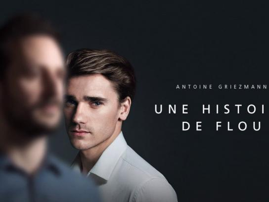 "Huawei Digital Ad - Antoine Griezmann in ""A Blurred Story"""