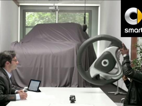Smart Digital Ad -  The biggest car ever prototype prank